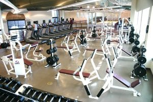 Midwestern State University Weight Room