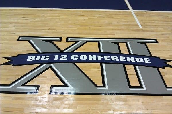Tcu Big 12 Logo Z Floor Sport Flooring