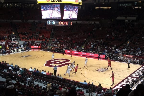 University of Oklahoma Lloyd Noble Center