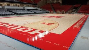 Fertitta Center basketball court