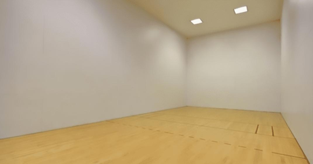 Racquetball Court Repair
